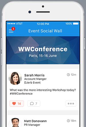 App per Associazioni Social Wall