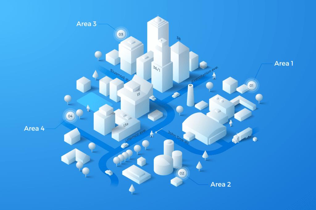 Mappa evento virtuale
